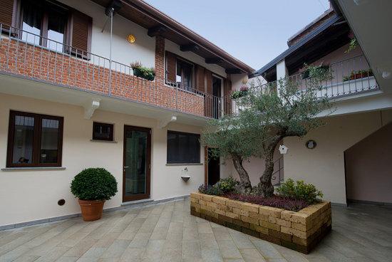 Villareggia, Italie : Cortile