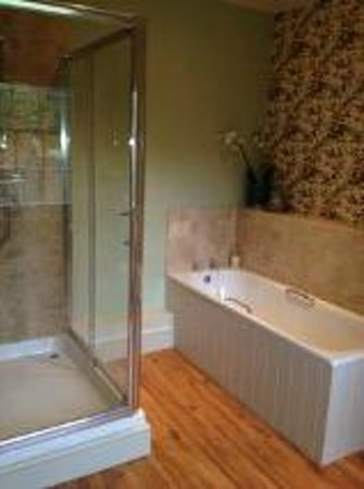 Cary Place: ensuite bathroom