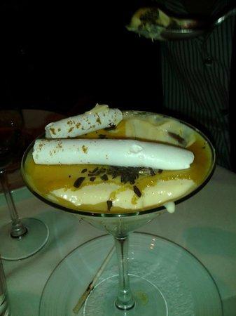 David Burke Townhouse : Butterscotch Pudding