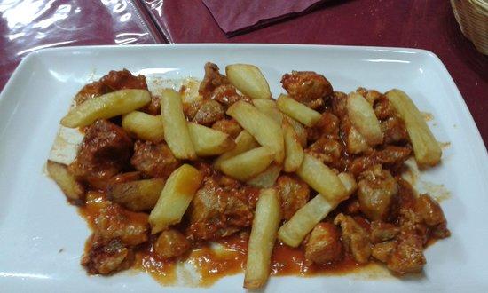 Cerveceria Juanpe: magro con tomate