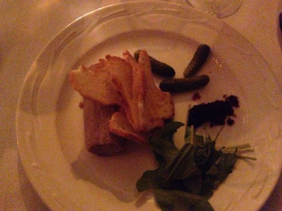 "Tinakilly Country House Hotel & Restaurant : Duck ""terrine"" - not good at all"