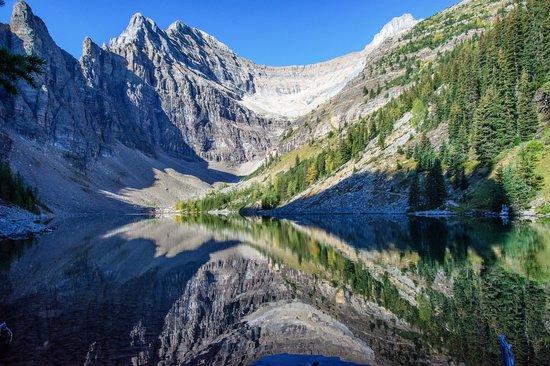 Lake Agnes Teahouse: Reflection on Lake Agnes