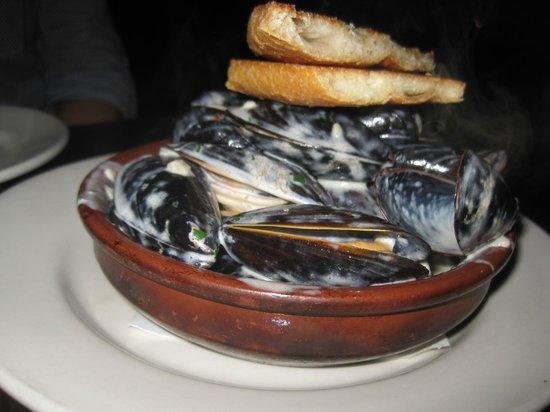 Sosa Borella: mussels