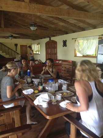 CHICABRAVA Surf Camp: Breakfast at Cloud Farm