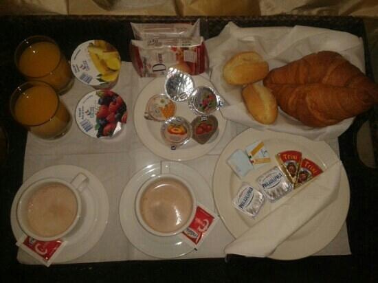 Relais Venezia: petit déjeuner dans la chambre