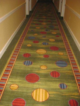 Holiday Inn Nashua: hallway