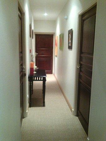 Couloir Picture Of Auberge Pompoire Azay Le Rideau Tripadvisor