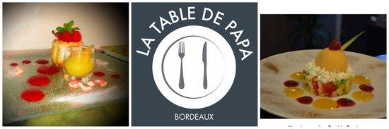la table de papa, bordeaux - restaurant avis, numéro de téléphone