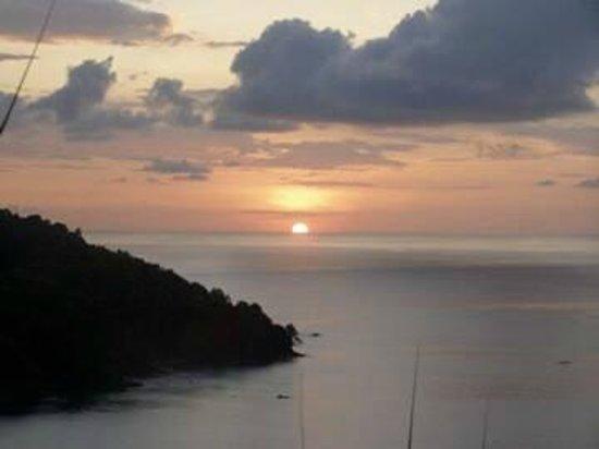 Villas de Oros: sunset
