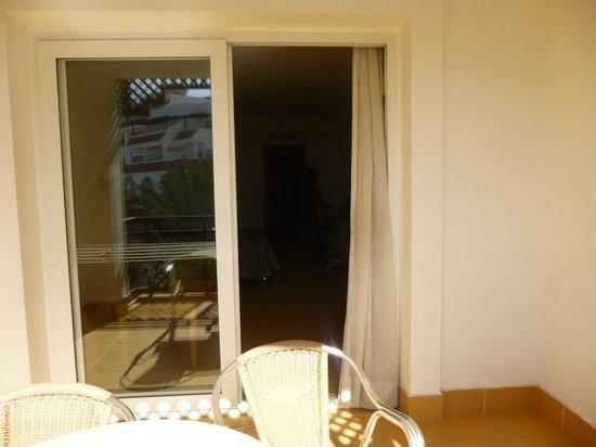 Hotel Timoulay & Spa Agadir : on the balcony