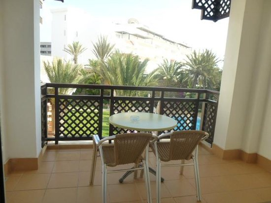 Hotel Timoulay & Spa Agadir : View out of balcony window
