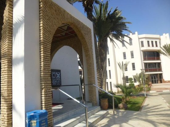 Hotel Timoulay & Spa Agadir : Front entrance