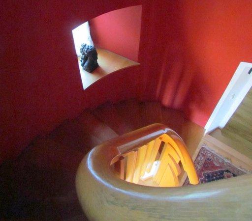 Klosterschenke: Stairway to top floor