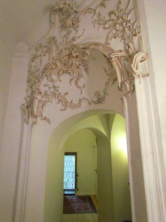 Klosterschenke: Upstairs corridor