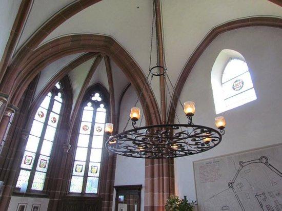 Klosterschenke: Dining room ceiling