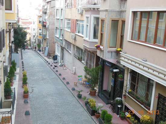 Violet Suite: Street view