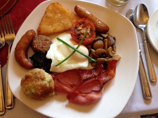 Garnish House: Full Irish breakfast was excellent.