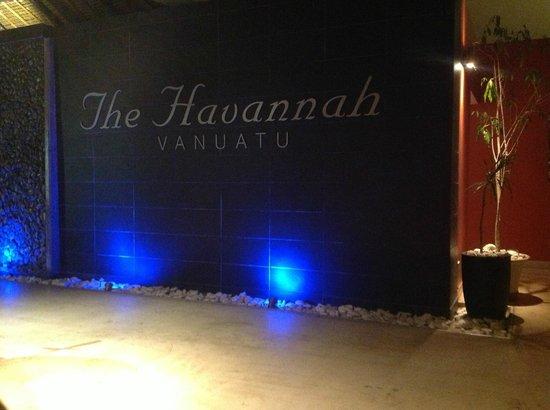 The Havannah, Vanuatu: The Havannah at night