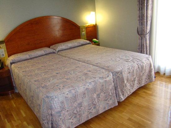 Hotel Rialto: the room