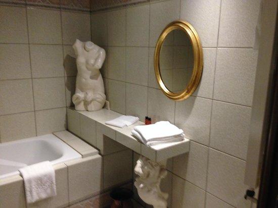 Relais du Bois Saint Georges : nochmal schönes Bad