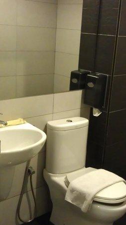 Hotel Austin Paradise: toilet