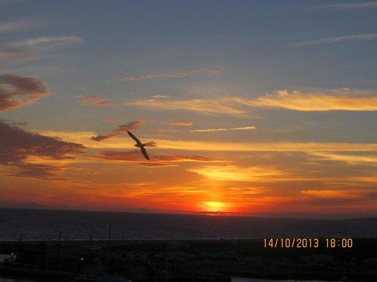 Vila Gale Marina: Sunset from balcony
