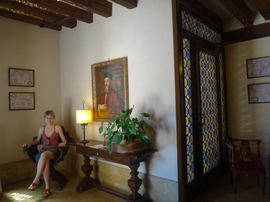 Palazzo Priuli: Лобби