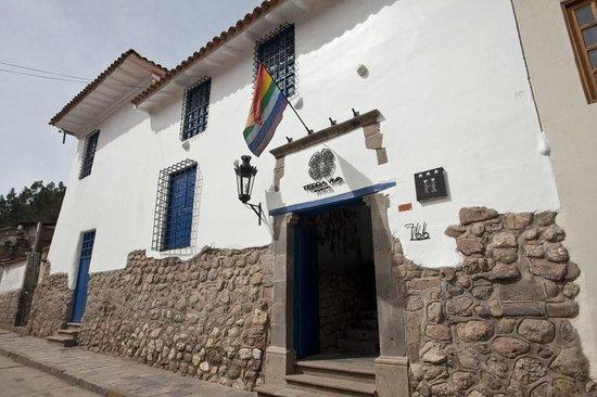 Tierra Viva Cusco Saphi: Hotel Entrance