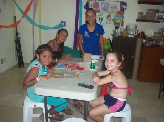 Plaza Pelicanos Grand Beach Resort: disfrutando del kids club