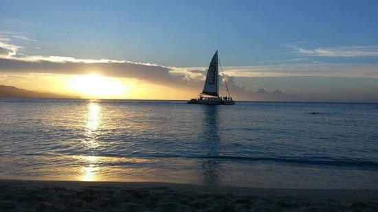 Doctor's Cave Beach: Sunset