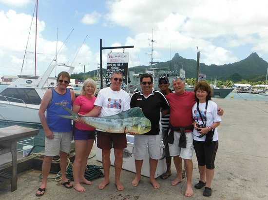 WaHoo Fishing Charters: Franks birthday present