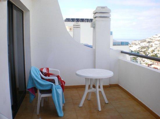 Carlota Apartments : terraço