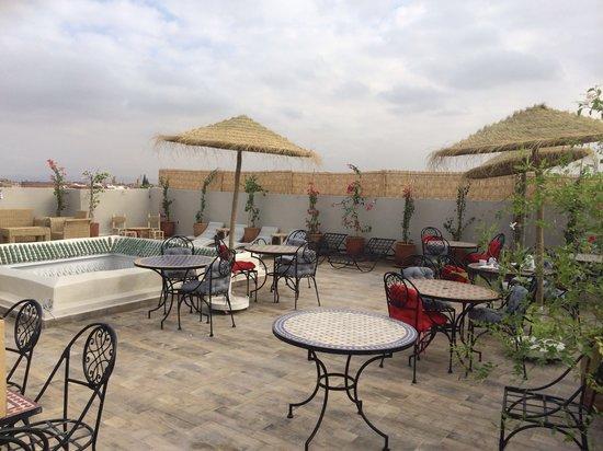 Riad Nesma: la nouvelle terrasse