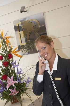 Roosevelt Hotel & Suites : Recepción