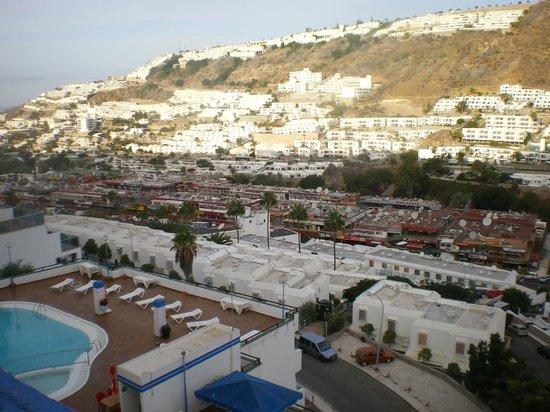 Carlota Apartments : vista geral