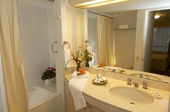 Roosevelt Hotel & Suites : Standard bathroom