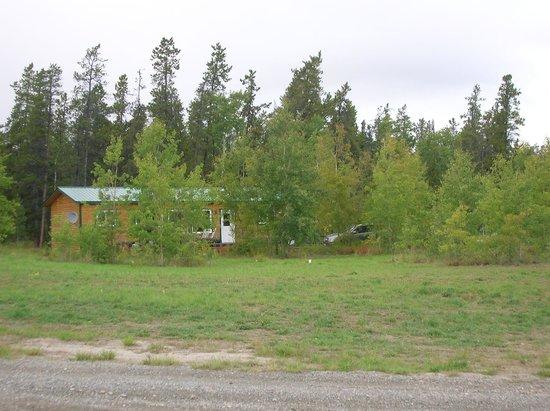 Sundog Retreat: cabin view