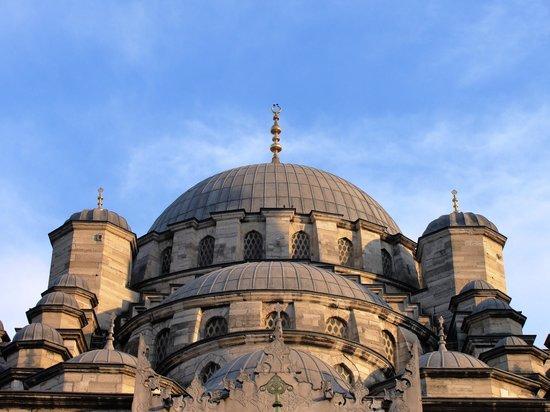 Kupeli Palace Hotel: Uma das mais importantes mesquitas - parte superior.