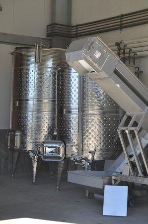 Elite Limo Napa Tours: Wine harvesting equipment.