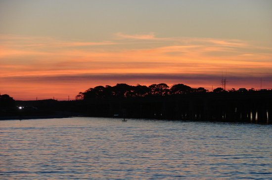 Olin Marler Fishing and Dolphin Cruises: Sunset