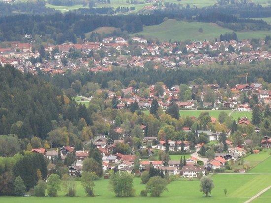 Hotel Schlosskrone: Vista do  Castelo de Neuschwanstein