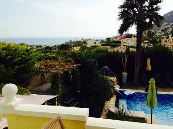 Casa La Diferencia : view from our balcony