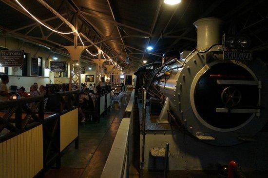 Selati Station Grillhouse: exótico!