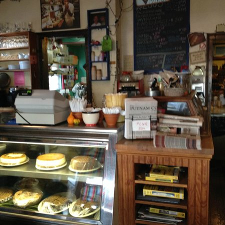 Foundry Cafe: Place your order here (and check out the homemade baked goods).