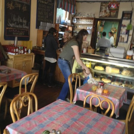 Foundry Cafe: The hostess with the mostess
