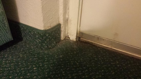 La Quinta Inn Austin University Area : dirty