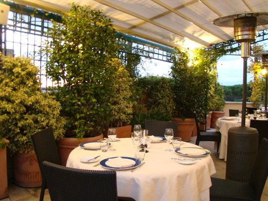 Hotel Victoria: Terrace Restaurant