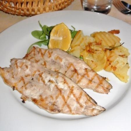 Il Cavatappi: Grilled Lake Fish: Pesce di Lago alla griglia
