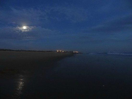 Salgados Dunas Suites: Beach at night