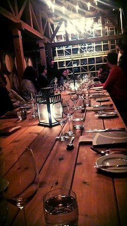 Trius Winery Restaurant: Our beautiful wedding rehearsal dinner